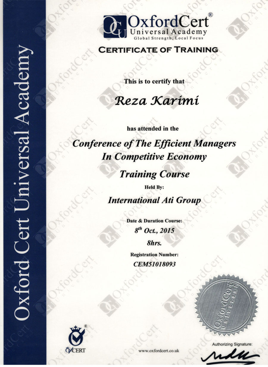 Oxfordcert